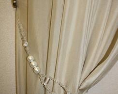 Abra�adeira de cortina p�rola