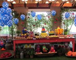 Decora��o de Festas Galinha Pintadinha