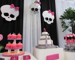 Decora��o de Festas Monster High