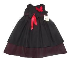 Vestido Infantil preto 285342