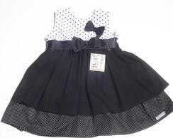 Vestido Infantil Preto 28535F