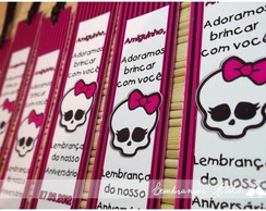 Marcador De P�gina - Monster High