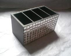 Porta Controle Remoto Em Mosaico