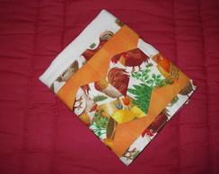 Pano de prato com patchwork.