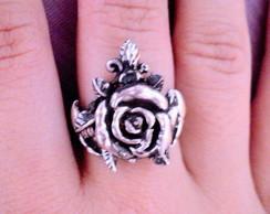 Anel rosa em prata
