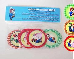Mario Bros 25 Topper  R�tulo