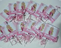 Pirulito Personalizado Barbie