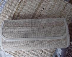 Carteira de m�o de fibra  de  bananeira