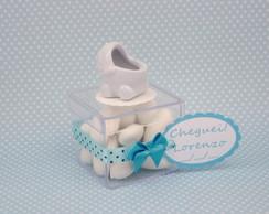Caixa acr�lico com carrinho de beb�