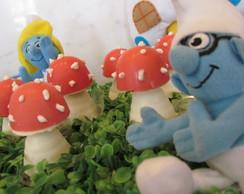 Cogumelo trufado Smurfs