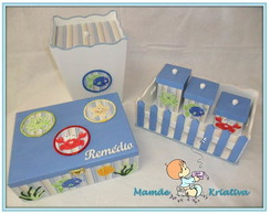 Kit Beb� - Fundo Do Mar 2