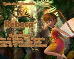 Convite Tinkerbell