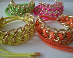 Pulseira Neon Color Block