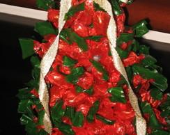�rvore de Natal de balas