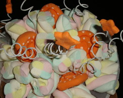 Buqu� de marshmallows Laranja