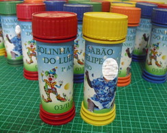 R�TULO BOLINHA DE SAB�O PERSONALIZADA