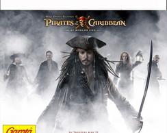 R�tulo Para Batom Piratas do Caribe