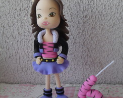 Topo de bolo Monster High Clawdeen Wolf