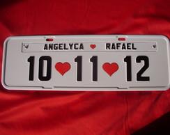 Placa Angelyca e Rafael
