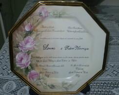 Convite de casamento