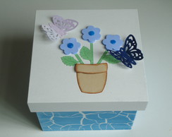 Caixa - Vaso de Flores