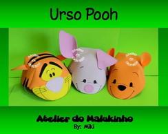 Chapeuzinhos Turma do Ursinho Pooh
