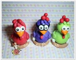 trio da galinha pintadinha