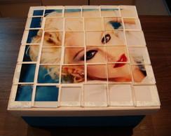 Caixa em mosaico Famosos