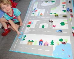 tapete pista de carros