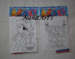 Kit Colorir 2 - Backyardigans