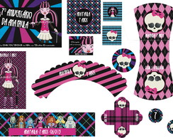 KIT DIGITAL - MONSTER HIGH