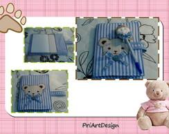 Caderno Para Maternidade Urso