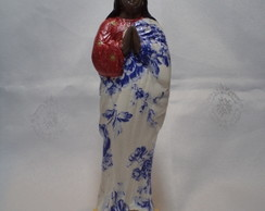 Santa Sara de Kali em decoupage