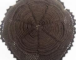 Almofada Croch� Flor