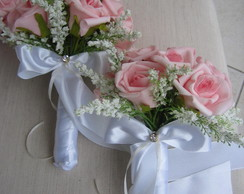 Mini bouquet damas e ou madrinhas IV