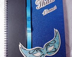 Caderno de Mensagem  15 anos