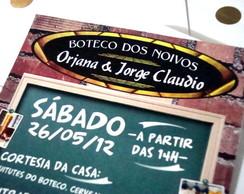 Convite Bar ou Boteco