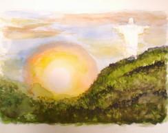 Divino Rio - (aquarela)