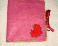 Porta absorvente e protetor - cora��o