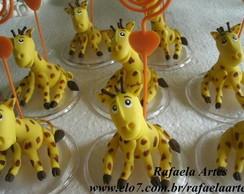 Girafinha em Biscuit
