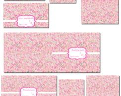 R�tulos Adesivos e envelopes Kit Toilet