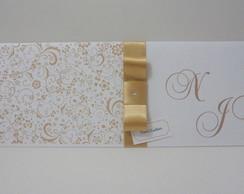 Convite De Casamento Longo