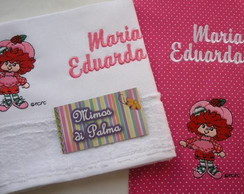 Kit Coordenado MORANGUINHO velour