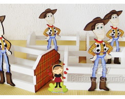 Caixote Toy Story - M - Woody