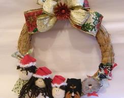 Guirlanda Fam�lia Natal