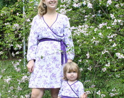 Vestido Farfalla Lil�s M�e e Filha