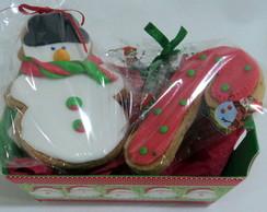Biscoito decorado natalino