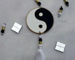 Fio de Luz Yin Yang preto e branco