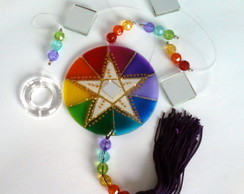 Fio de Luz Pentagrama 7 cores