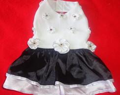 Vestido com Flores/Missangas